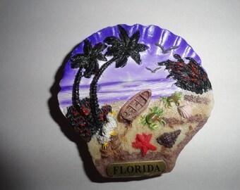 Vintage Florida magnet stone