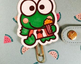 Keroppi the frog Planner Clip