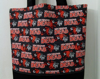 The Walking Dead Inspired Tote