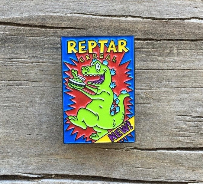 Reptar Cereal Pin By Heartificial On Etsy