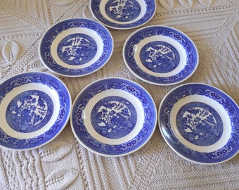 Blue Willow Salad or Soup Bowls (6)