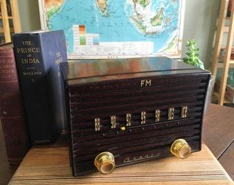 Vintage 1960s Granco FM Radio Tuner - Tube Radio Model T160