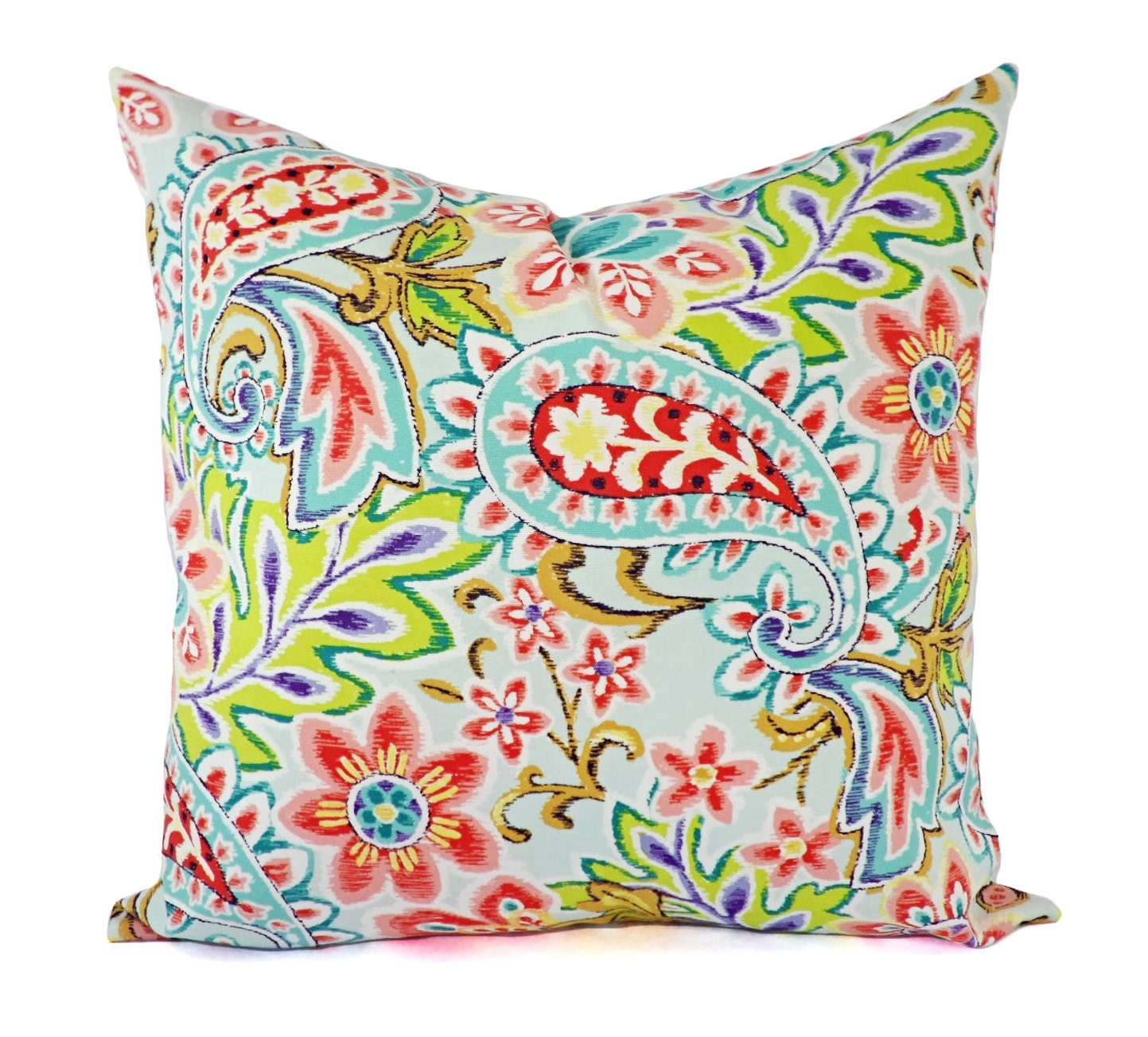 Paisley Pillow Covers Outdoor Pillow Cover Pink Pillow