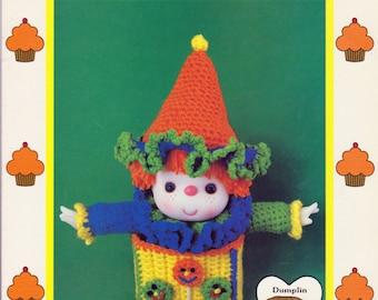 Lollipop Crochet Doll by Cupcake Corner, Vintage 1985 Crochet Pattern