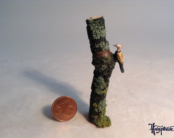 Miniature woodpecker