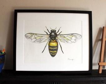 Honey Bee Original Art