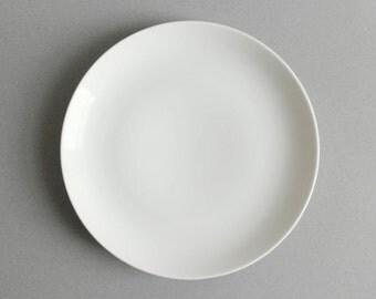 2 Available - Upsala Ekeby Karlskrona Salad Plates White Mid Century