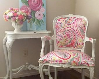 Colourfilled Vintage Chair