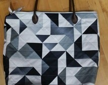 Ombre' Geometric Tote Kit V and Co. Moda Fabric