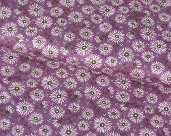 Moda Purple Ditsy Flowers cotton woven fabric - UK seller