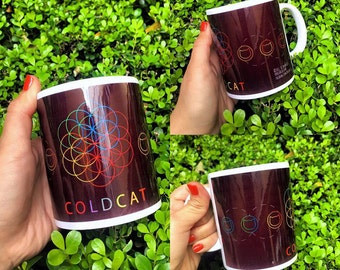 Coldplay - A Head Full of Dreams. mug 11 oz