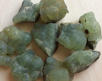 Prehnite Natural Raw Healing Stones, Spiritual Stone, Healing Stone, Healing Crystal, Chakra