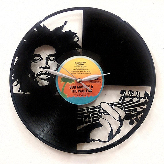 Bob Marley Wall Art Vinyl Lp Record Clock Or Framed Great