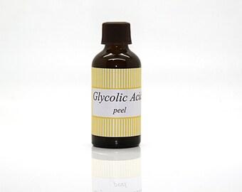 Glycolic acid peel (15 %)