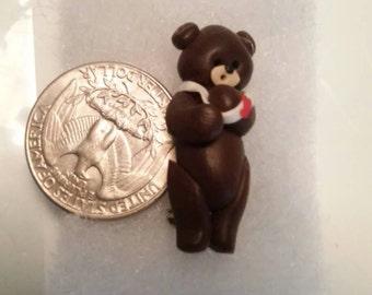 Adorable little Boo boo Teddy Bear Pin