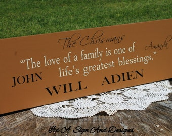 Adoption Gifts, Adoption Art, Adoption Announcement, Gotcha Day, Family Sign, Blended Family Sign, Family Name Sign, Family Established Sign