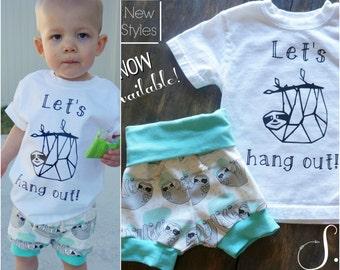 "Shop ""sloth shirt"" in Boys' Clothing"
