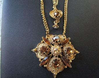 PRICE REDUCED: Vintage Florenza Necklace