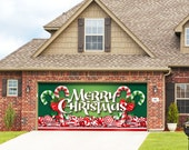 Christmas Candy - Holiday Garage Door Decor - CCC2C