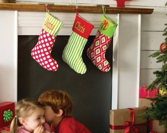 """Shop """"monogrammed christmas stockings"""" in Clothing"""