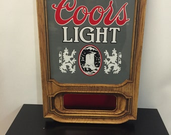 Coors Sign Etsy
