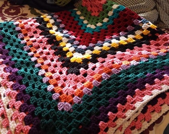 Light & Bright Crochet Afghan