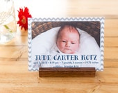 Postcard/Photo Stand Natural Hard Wood (stationary stand, calendar stand, desk, office accessory)