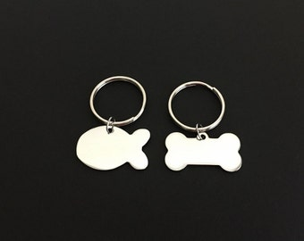 Unique bone key chain related items Etsy