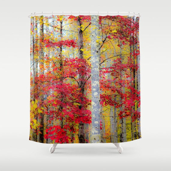 Items Similar To Rustic Shower Fall Shower Curtain