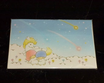 Vintage Sanrio 1976 1985 Little Twin Stars Envelopes Set with 10 Stickers
