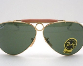 ray ban sunglasses aviator vintage  rare 90's vintage \ray ban\ aviator sunglasses