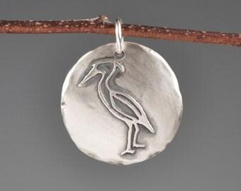 Heron totem-stork totem-talisman-charm-power animal-spirit animal