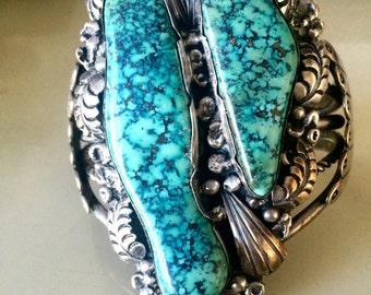 Native Navajo Turquoise Cuff