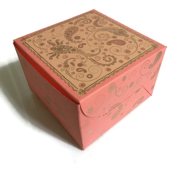 cake box wedding favor box indian wedding box by penandfavor. Black Bedroom Furniture Sets. Home Design Ideas