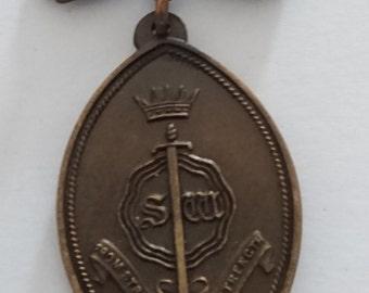 Vintage Sw guild badge/pin