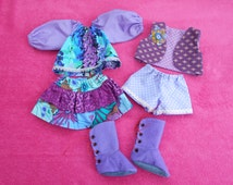 "Doll clothes for our 18"" rag dolls"
