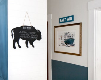 Buffalo Chalkboard, Home Decor