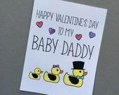 Happy Valentine's Day to my baby daddy