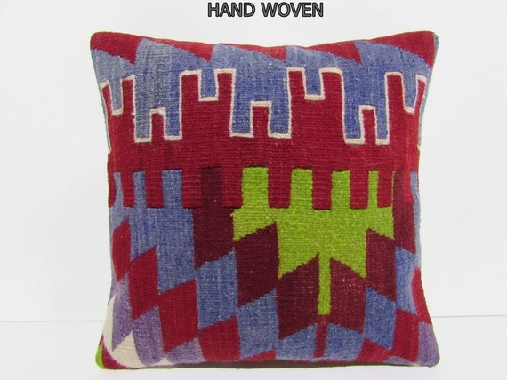Large Floor Pillow Cases : ethnic pillow case 18x18 floor cushion cover tribal decor
