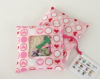 I Spy Bag - Pink Hearts