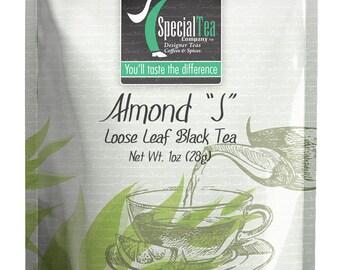 """1 oz. Almond """"j"""" Black Tea"""