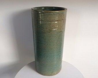 Zanesville Stoneage Modern Cylinder Vase