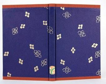 Blue and Orange Blank Book