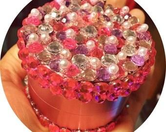 Girly Pink Grinder XL