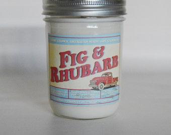 Fig and Rhubarb