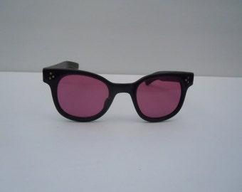 Vintage Black Sunglasses made in Japan Deadstock Retro