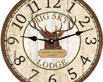 Hunting Clock- Buck Clock