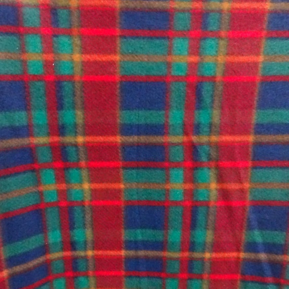 red and green plaid anti pill plaid fleece fabric 60 inches wide and sold by the yard from. Black Bedroom Furniture Sets. Home Design Ideas
