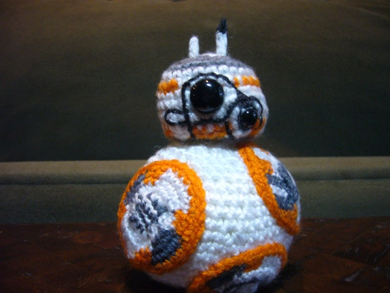 BB8 DROID Amigurumi Crochet Yarn Star Wars by ...