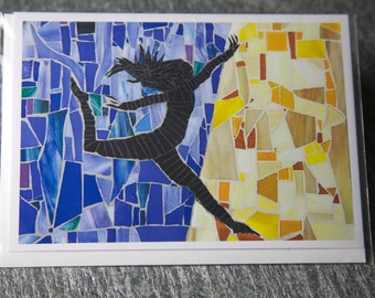 Jump for Joy Greeting Card, Blank Inside
